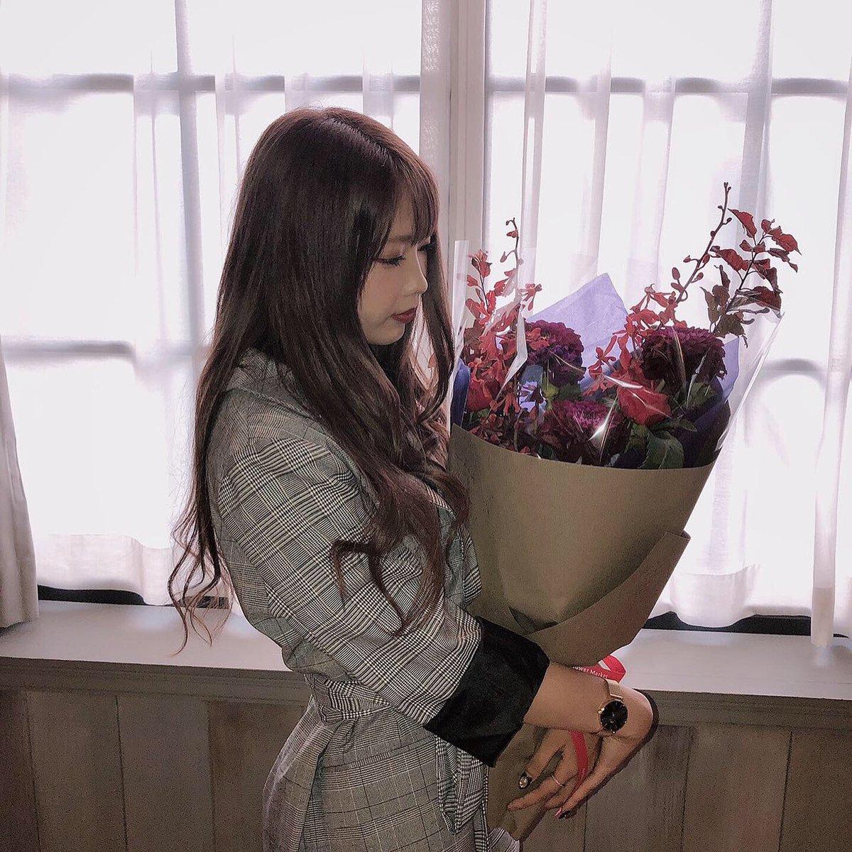 のあくんからの花束…💐かっこいいよね   幸せ。
