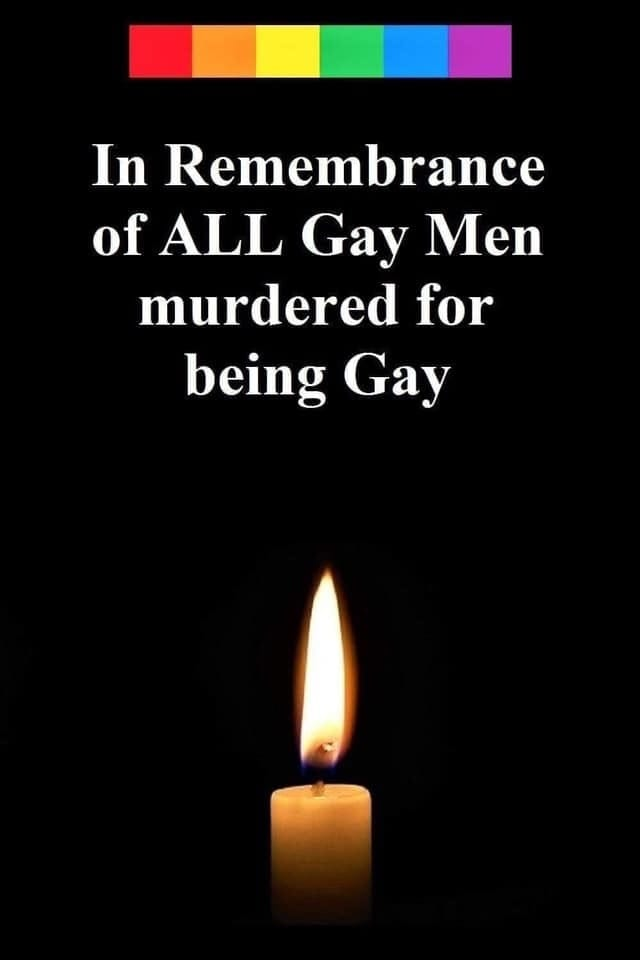 Gay men, transgender people and anyone murdered for being who they are. #rip #stopthehate #stopkillingus #stopkillingtranswomen #weareallhuman #weallbleedthesamecolor 💔💔🏳️🌈🌈😢😢😭 #thursdayvibes #LoveYourselfSpeakYourself #LoveWins