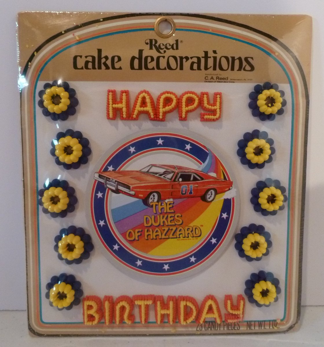 Swell Larry Franks On Twitter Hey A Dukes Of Hazzard Tv Tray Hey A Personalised Birthday Cards Arneslily Jamesorg