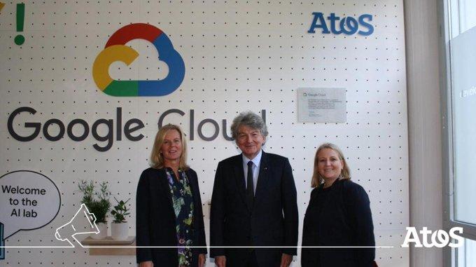 📣 Atos inaugure son premier laboratoire d'#IA en #Allemagne 🇩🇪 à...