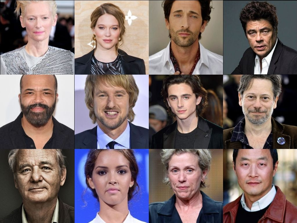 Here's the official cast for Wes Anderson's new film 'The French Dispatch.' The film will be released in 2020.