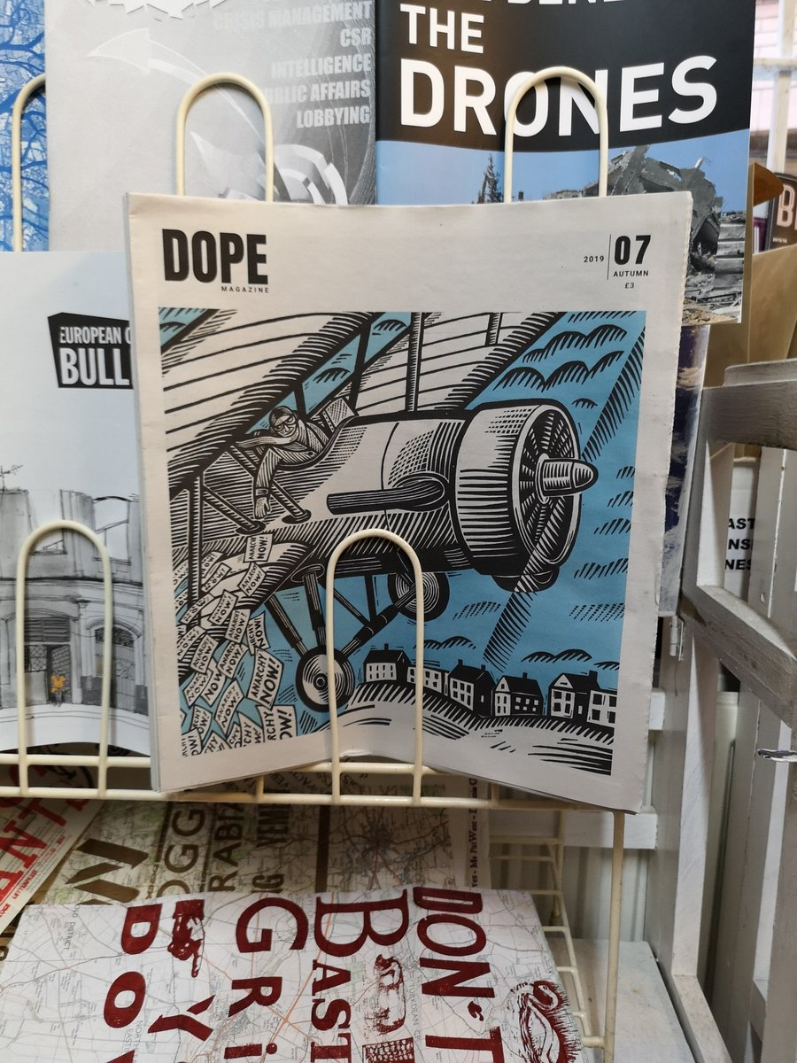 DOPE on the shelves at London's premier Anarchist Bookshop @Freedom_Paper patreon.com/dopemag