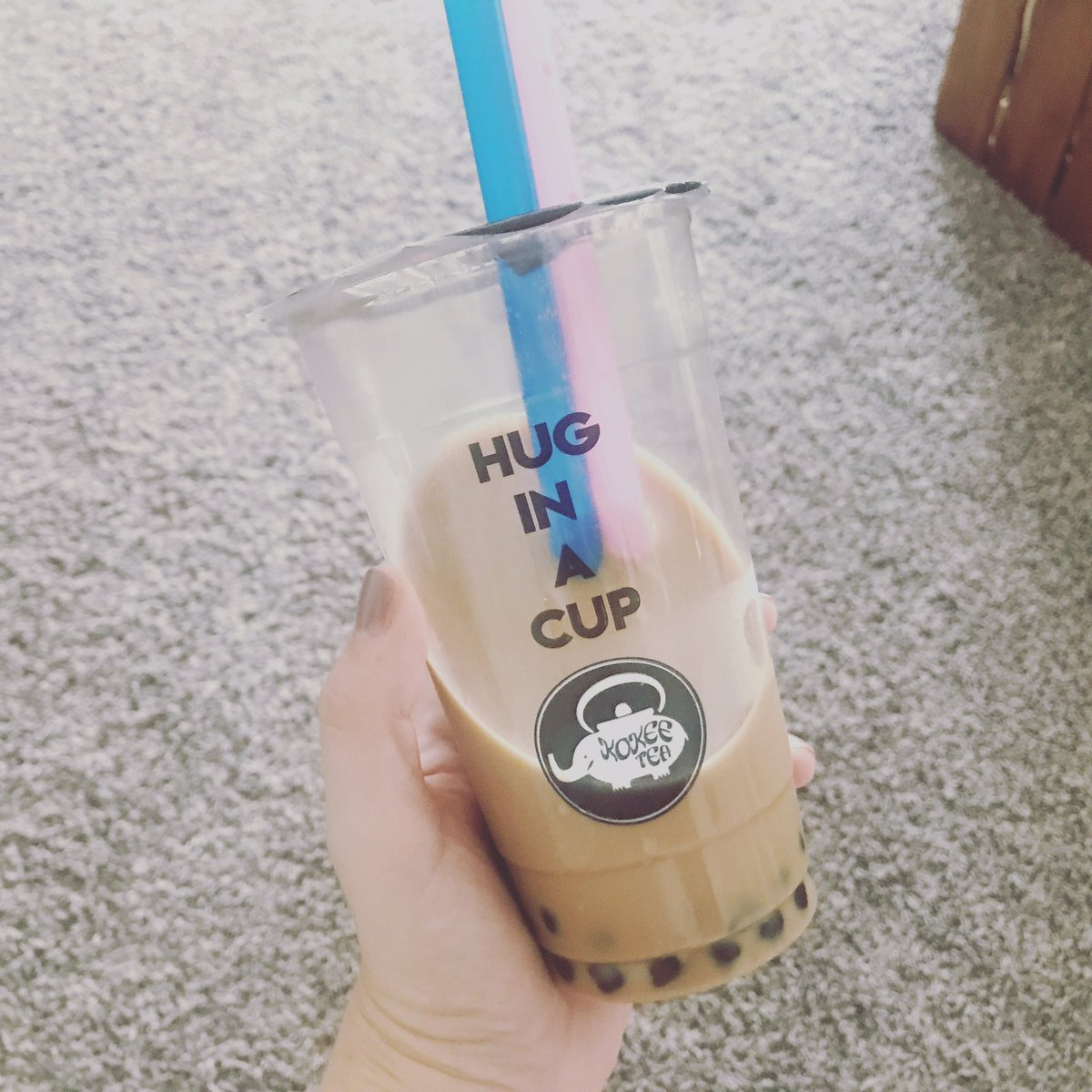 I am craving bubble tea soo bad right now!! I love it but there aren't many places super close to me that serve it. I need to figure out how to make it myself! #bubbletea #lovebubbletea