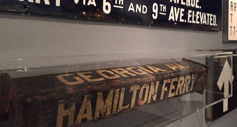 Letters pop up in the most unexpected places. If you are in New York, check out the letters and old wooden signs in the transit wayfinding exhibit at Grand Central Changing Signs, Changing Times @NYTransitMuseum Annex. More here: ow.ly/9NWk50wfQM7