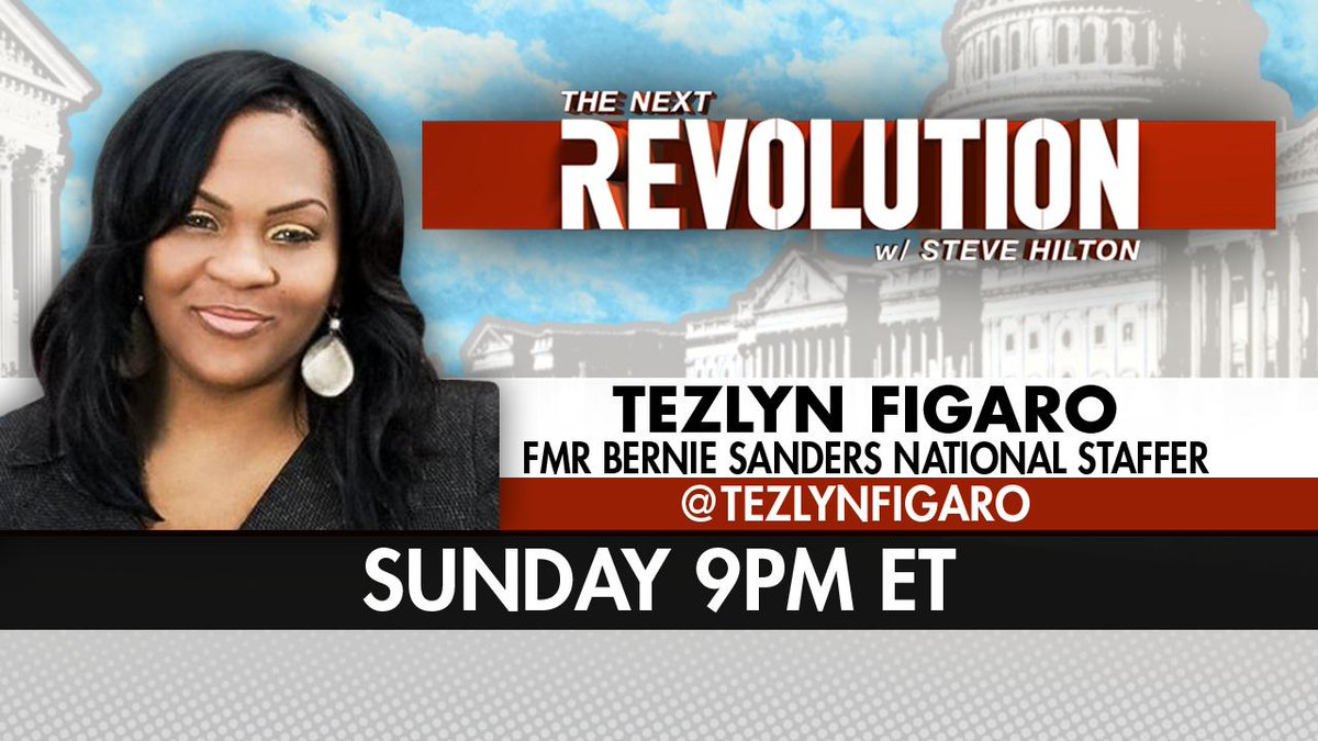 SUNDAY! See @TezlynFigaro on #NextRevFNC! Tune in at 9pm ET on @FoxNews!