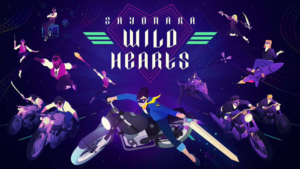 Let's Pop! Sayonara Wild Hearts – A Pop Album Video Game – is available now on #NintendoSwitch #eShop!💜https://bit.ly/2lP5mD2