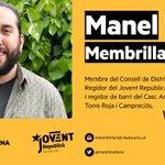 Image for the Tweet beginning: Us presentem en Manel Membrilla,