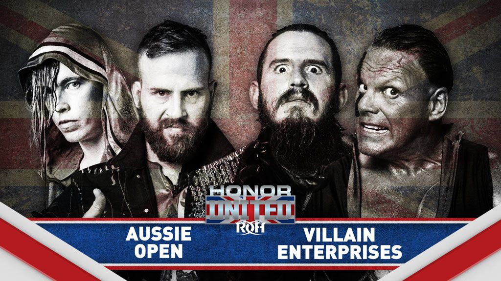 Ring Of Honor Announces Two Matches For Honor United UK