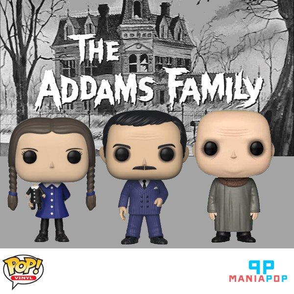 Família Addams em versão Funko Pop, você encontra no http://maniapop.com.br:  - Gomez Addams - Wednesday Addams - Tio Fester  Confira estes e outros personagens de #séries  #coleção #funko #maniapop #clássico #família #tv #desenho #filme #comédia #terror #monstropic.twitter.com/gIYyl4AjPp