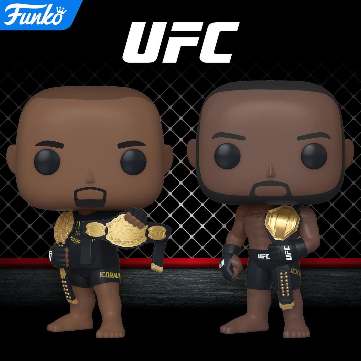 Coming Soon: Pop! UFC! funko.com/blog/article/c… @ufc #Funko #Pop #FunkoPop #UFC