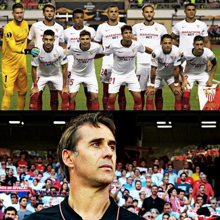 ➔ Líderes en la Liga de España. ➔ 10 de 12 puntos posibles en la Liga. ➔ Goleada en su primer partido de UEFA Europa League. ➔ 1 solo gol recibido en 5 partidos disputados. EL INICIO DE CURSO DEL SEVILLA DE LOPETEGUI.