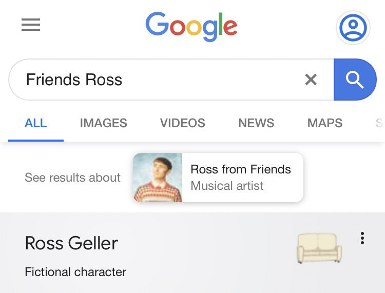 @Somewhataldente When you click search, something should appear by each name, that you need to click on. For example, for Ross, it's a couch.