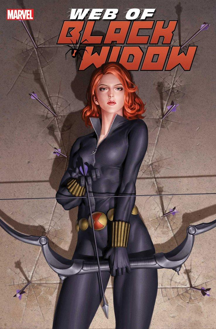 @jared_webb1 @Mitch692 @WeaponXKP21 @AKARELK @SuperSuitShow @The_GWW @rdauterman @79SemiFinalist FIRST ISSUE WAS FLAMES!!! Black Widow deserves an ongoing. Yall support dis! THE WEB OF BLACK WIDOW #4 (of 5) JODY HOUSER (W) • STEPHEN MOONEY (A) Cover by JUNGGEUN YOON