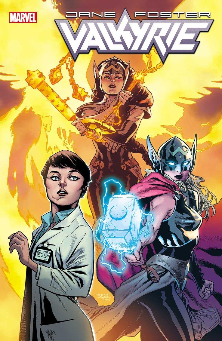 @jared_webb1 @Mitch692 @WeaponXKP21 @AKARELK @SuperSuitShow @The_GWW @rdauterman @79SemiFinalist So in this issue all the superhero doctors team up, Doctor Strange, Night Nurse, Cardiac, Faiza Hussain and Jane Foster WTF CARDIAC AND FAIZA HUSSEIN THIS NEEDS TO BE A SERIES WTF. VALKYRIE: JANE FOSTER #6 Al Ewing & JASON AARON (W) • Pere Pérez (A) • Cover by MAHMUD ASRAR