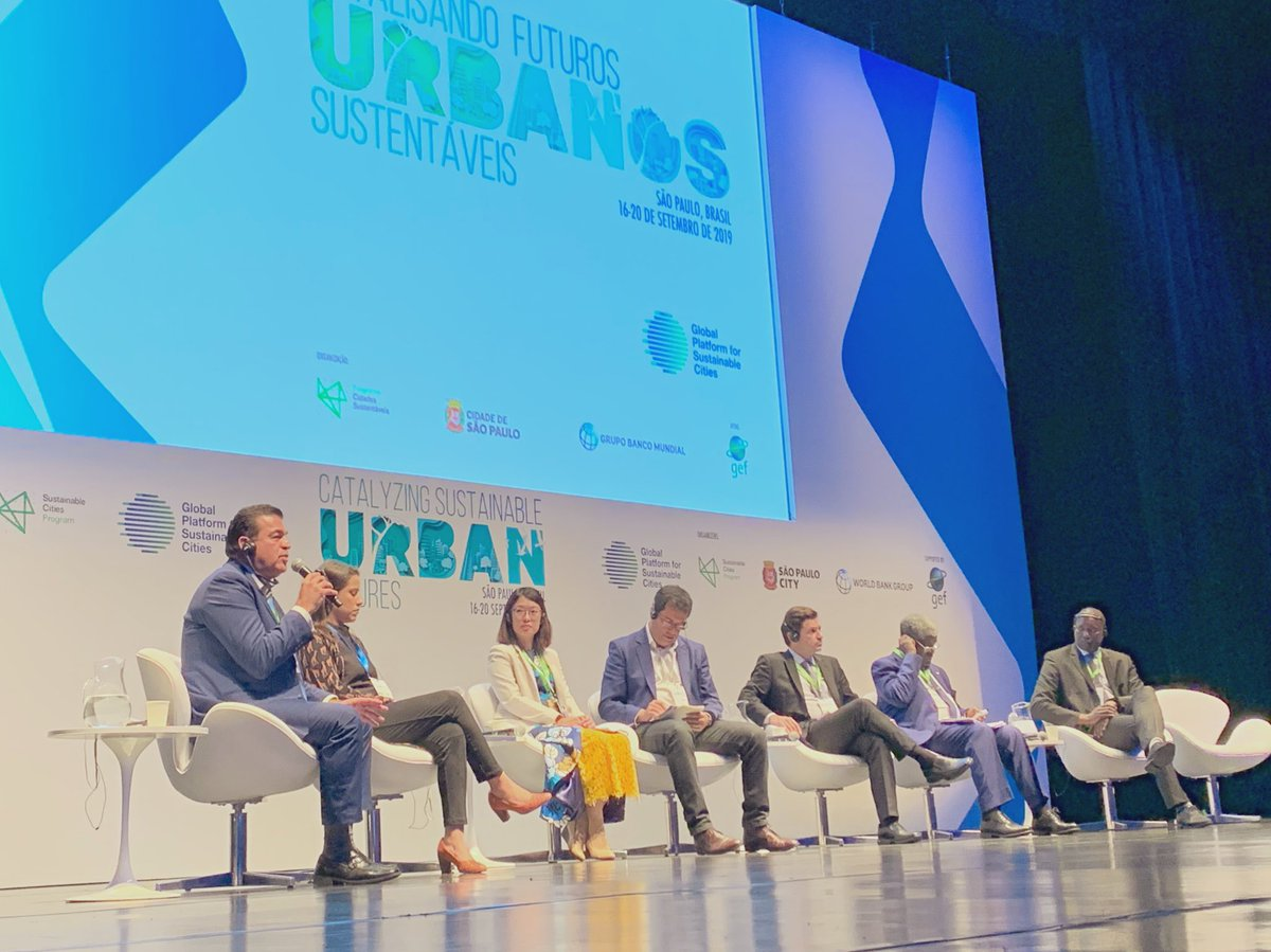 Mayor of #LaPaz, #Mexico 🇲🇽 : Actions to build a green, resilient and climate-smart urban future cannot be delayed. The time to act is NOW. Read the #SaoPauloStatement: http://wrld.bg/k7xO30pyJwT #SustainableCities #Cities4All