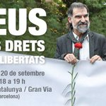 Image for the Tweet beginning: Vine demà a l'acte 'Veus