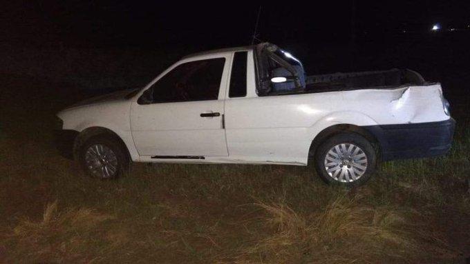 #Región | Iba en su camioneta por la Ruta 1, volcó y terminó hospitalizado
