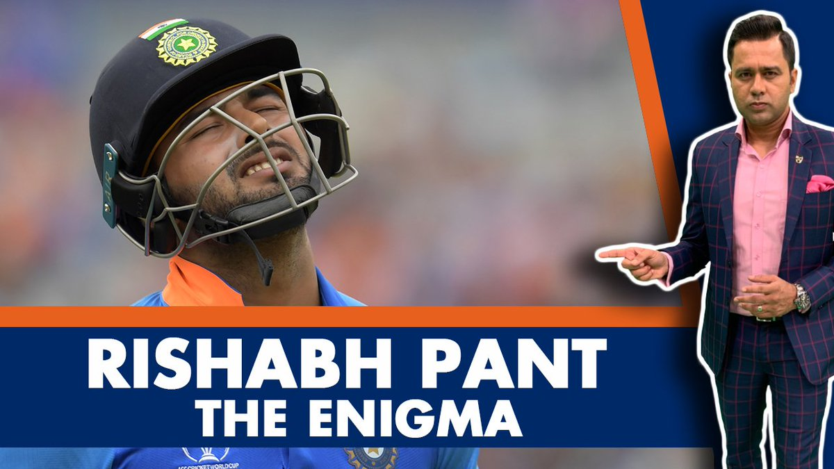 Let's talk about Rishabh Pant...under the scanner for a while now. Is he actually playing 'careless cricket'? And should he compared to MS Dhoni? That and more in today's episode of #AakashVani. Your thoughts on Pant? Share them in the comments guys.