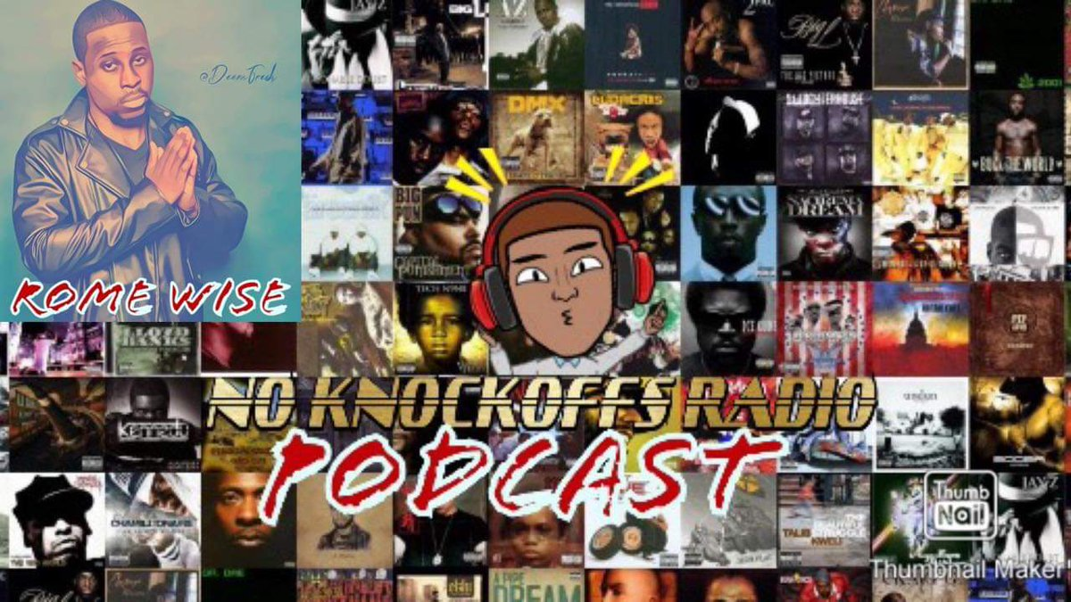 No Knockoffs Radio Podcast is back again with the Weekend Warriors and special guest Rome Wise @Rome_Wise. Romes debut album Born To Be The King is set for a fall 2019 release. Support new artists. Join us live Friday from 8pm- 10pm central. Join us on YouTube and subscribe.