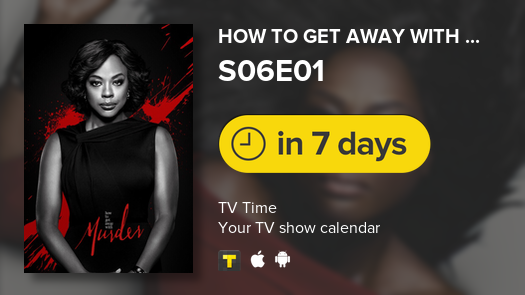 How to Get Away with Murder is back in 7 days! #HTGAWM  #tvtime<br>http://pic.twitter.com/dJuvWKCUjc
