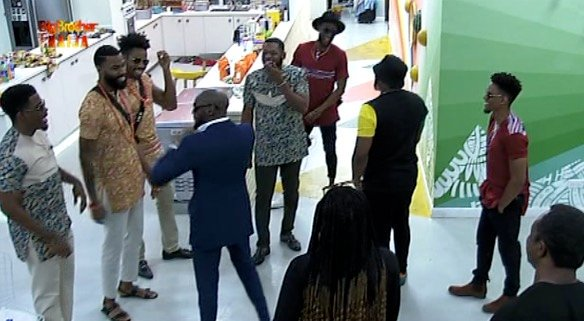 Image  BBNaija: 2face Idibia, Larry Gaga pay housemates surprise visit [PHOTO] EE2LiKUWkAAewjU format jpg name small