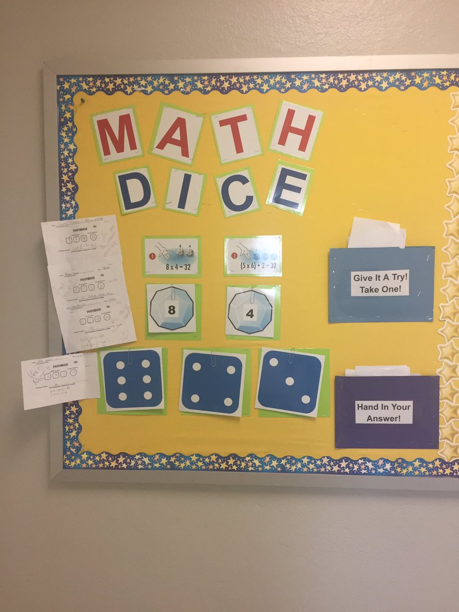 ATS Stars rockin' INTERACTIVE BULLETIN BOARDS!  Math Dice Rules! <a target='_blank' href='http://twitter.com/ats_math'>@ats_math</a> <a target='_blank' href='http://twitter.com/ats_pta'>@ats_pta</a> <a target='_blank' href='http://twitter.com/APS_ATS'>@APS_ATS</a> <a target='_blank' href='http://twitter.com/APSMath'>@APSMath</a> <a target='_blank' href='http://twitter.com/ThinkFun'>@ThinkFun</a> <a target='_blank' href='https://t.co/J79GiPLjd9'>https://t.co/J79GiPLjd9</a>