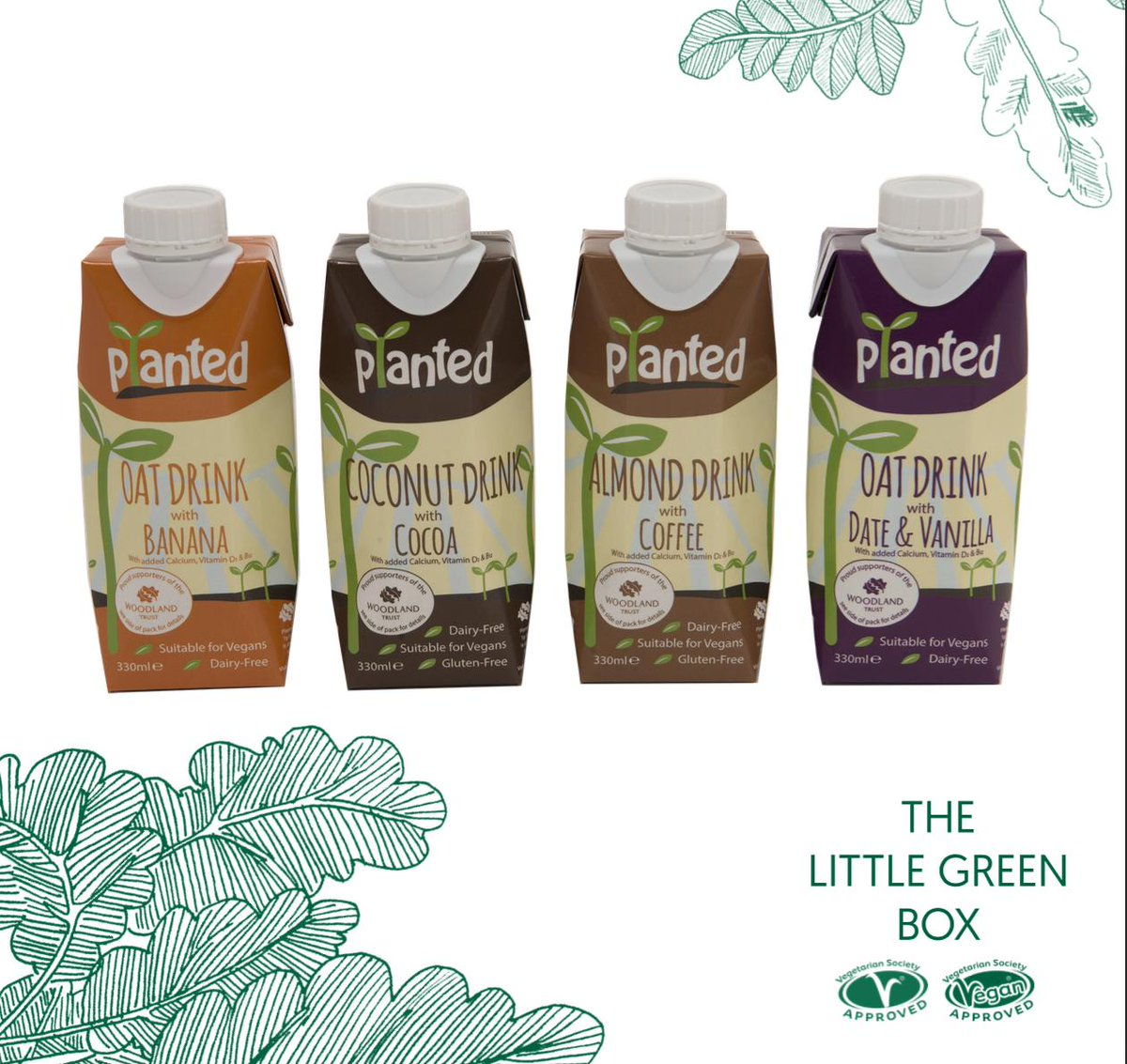 Six days to go until the first #Freshers2019 fair! The final vegan treat in our #LittleGreenBox is @plantedrange flavoured nut milk! A fab refresher for freshers week. 👅🤘Pick up a free box at your university this September. 🌏#EatToBeatClimateChange