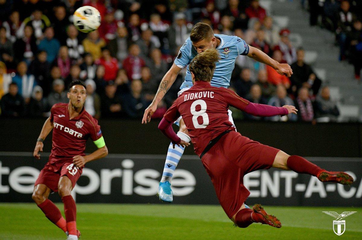 #EuropaLeague | #ClujLazio La Lazio sest inclinée 2-1 en Roumanie face au CFR Cluj ! Lancien marseillais Omrani a inscrit le but de la victoire.