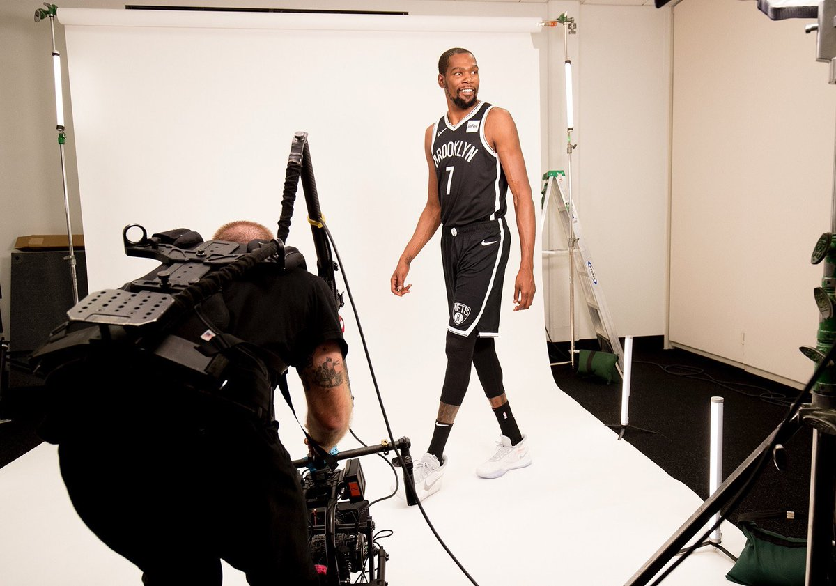 Kevin Durant in his Brooklyn Nets Jersey🔥
