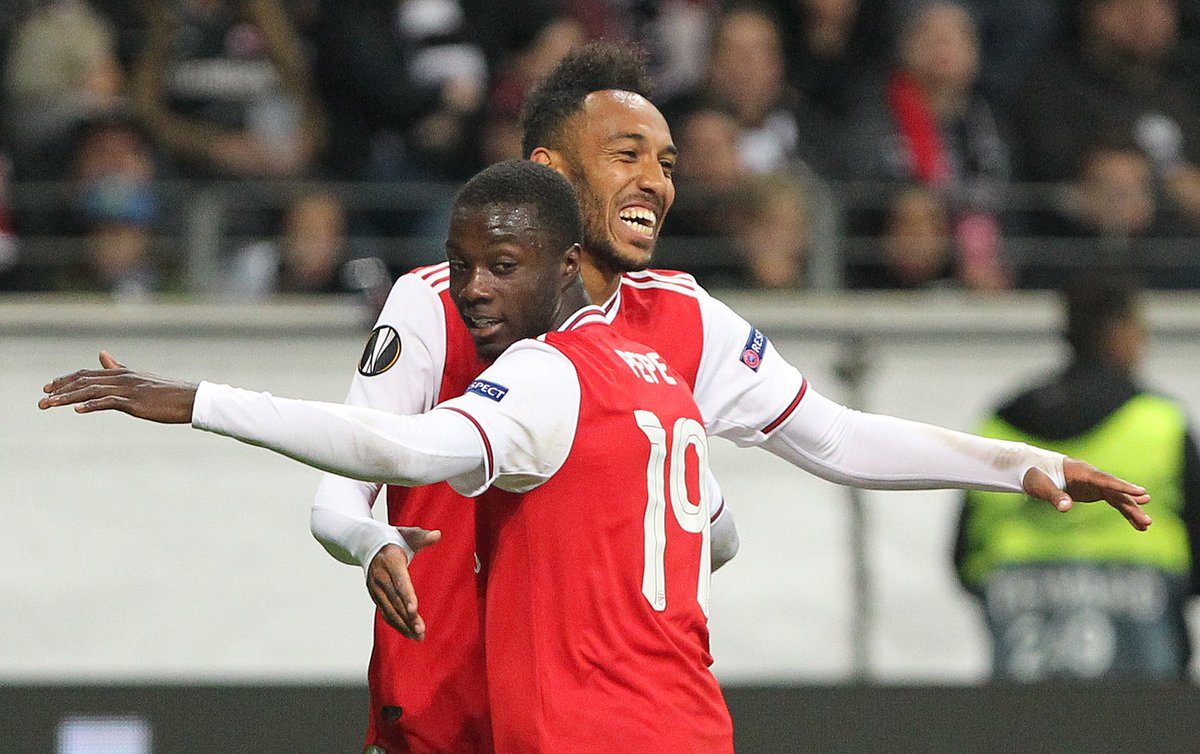 Video: Eintracht Frankfurt vs Arsenal Highlights