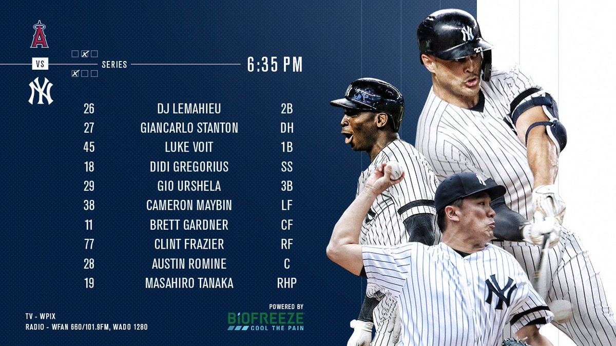 Series finale tonight. Powered by @Biofreeze