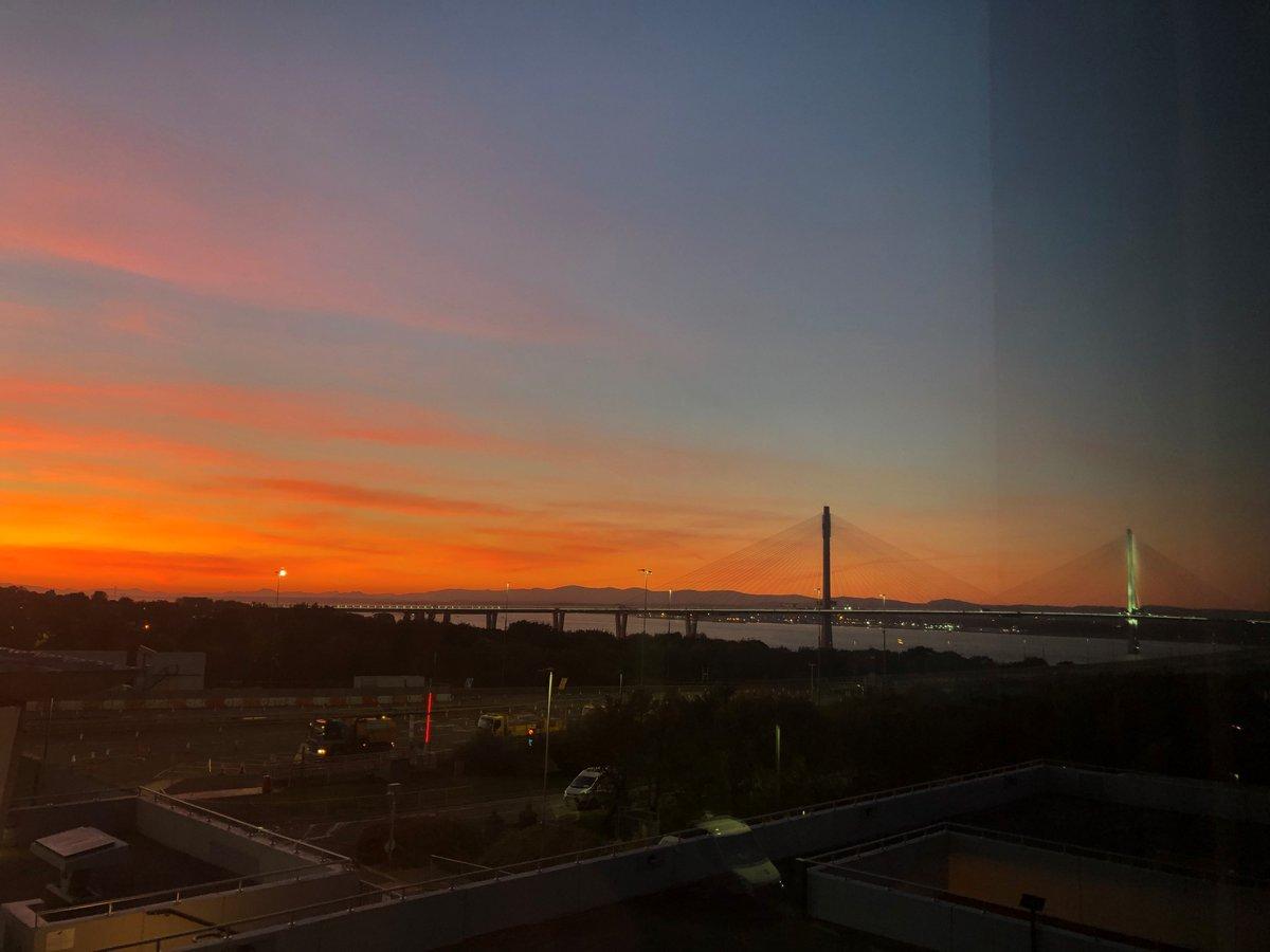 test Twitter Media - Red sky at night... Shepherd's delight!   Perks of the job😍  R https://t.co/ECYV0jwquB