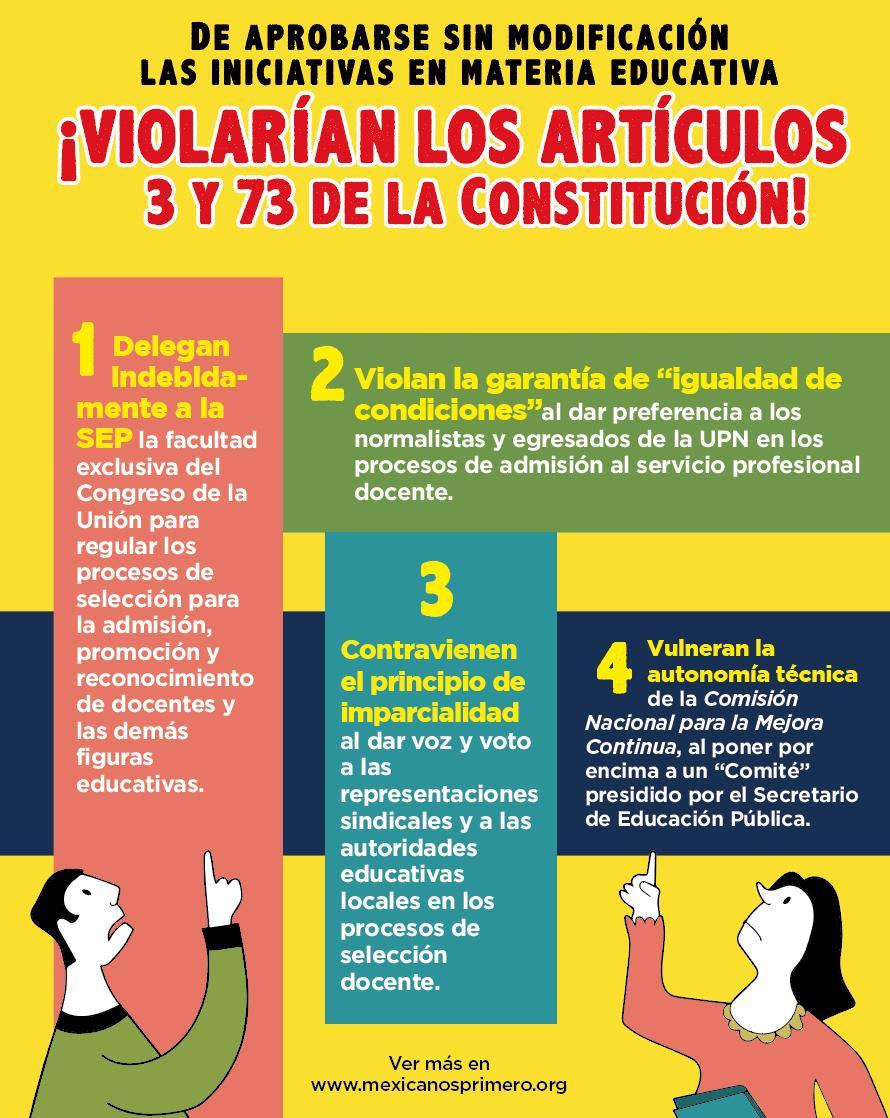 Las leyes secundarias en materia educativa son anticonstitucionales: @DavidResortera #EnVivo con @CarlosLoret por @WRADIOMexico http://bit.ly/2lJw7bW