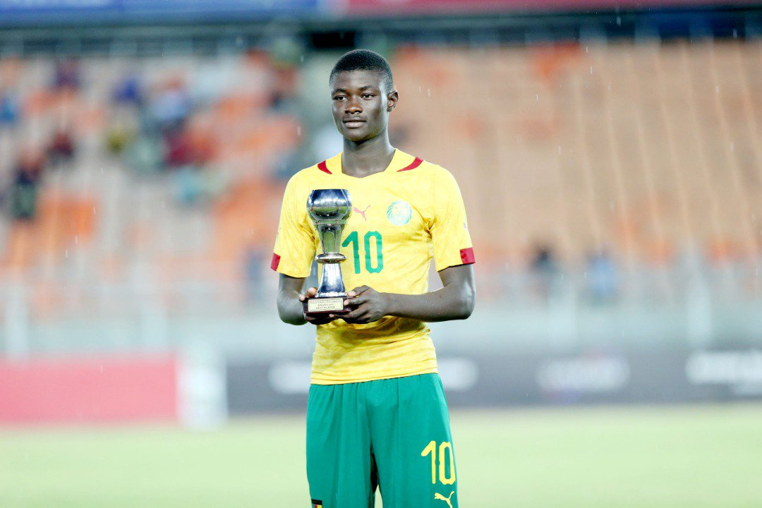 Steve Mvoue captained 🇨🇲@FecafootOfficie U-17s to a continental title 🌍Now the son of the Indomitable Lionesses first-ever captain has his sights set on the #U17WC 🇧🇷➡️http://fifa.to/e/b7JtDzDl7Z