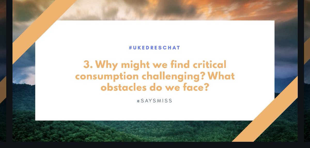 Why is this hard? What are we up against? #UKEdResChat