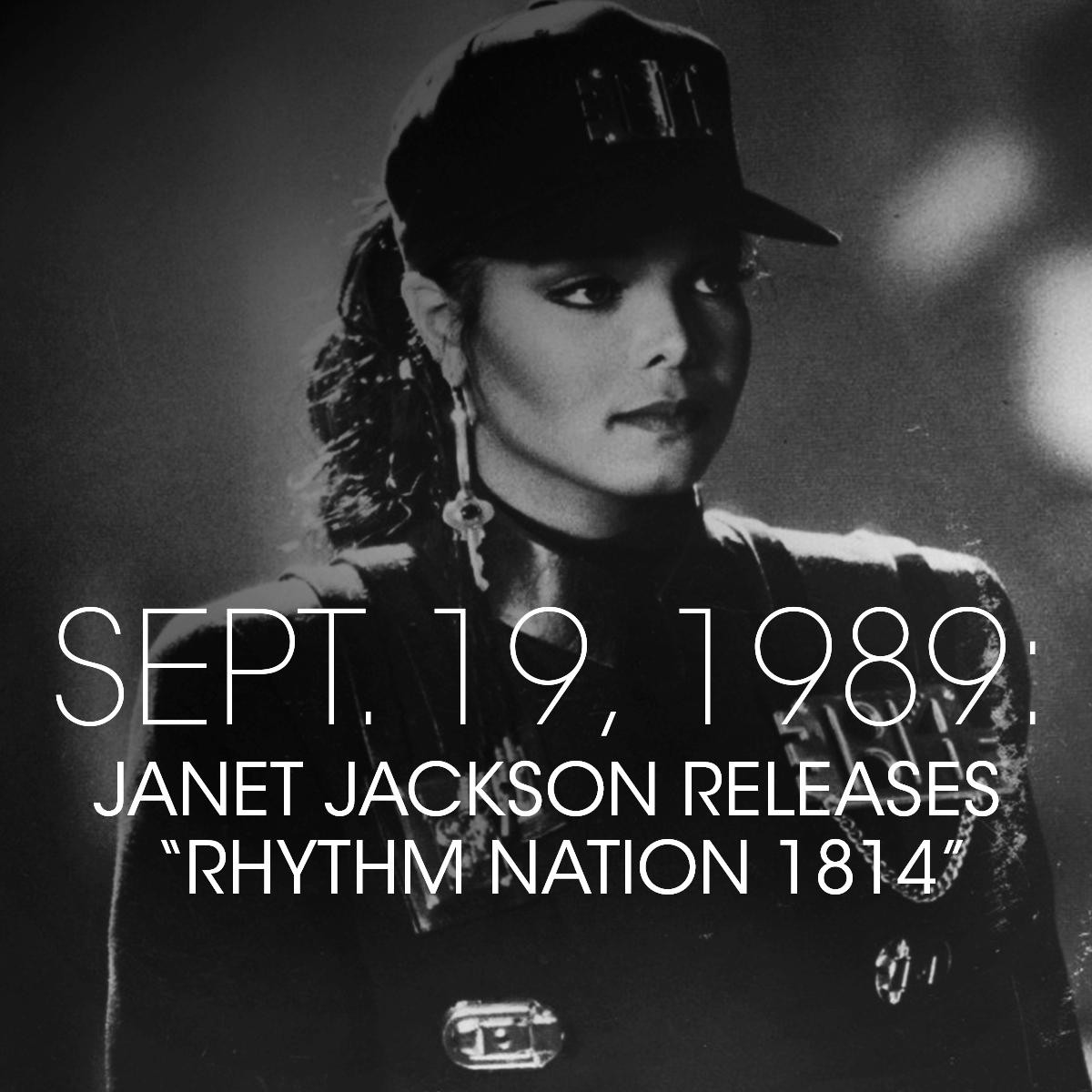 Congratulations and Happy Anniversary to Janet, Terry Lewis and Jimmy Jam @flytetymejam. 30 years of joy from three icons on an album that changed the world.