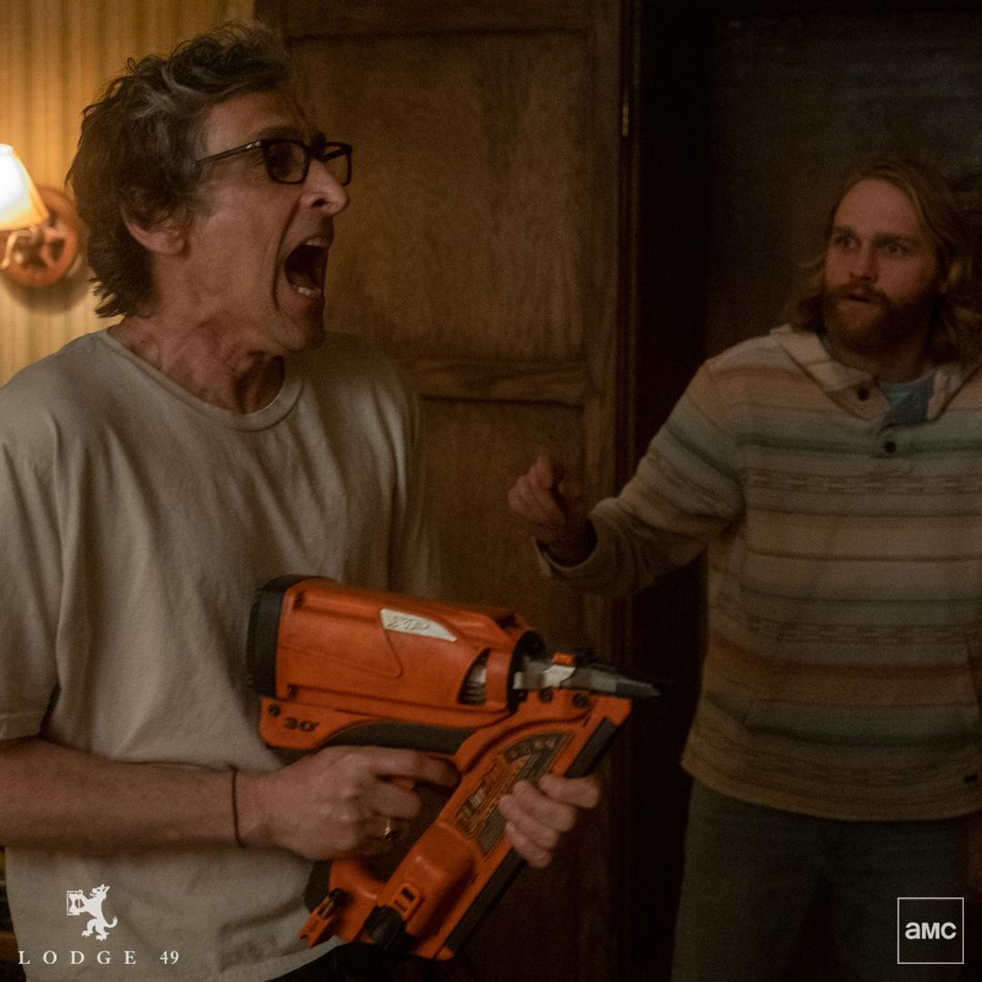 CAPTION THIS. #Lodge49