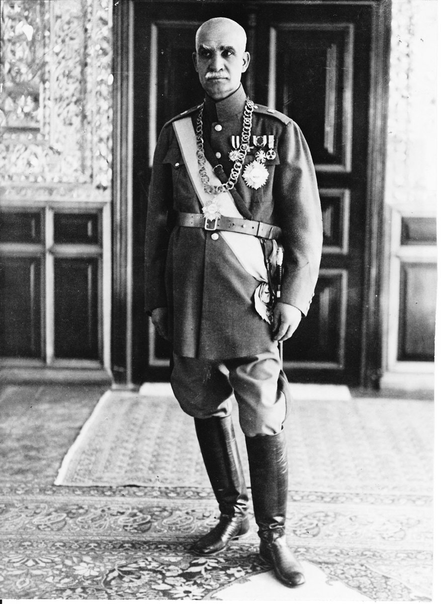 Reza Shah, King of Iran, has been forced to abdicate the throne in favour of his son, at demand of British & Soviet invaders- despite threatening to shoot the general who suggested he surrender.