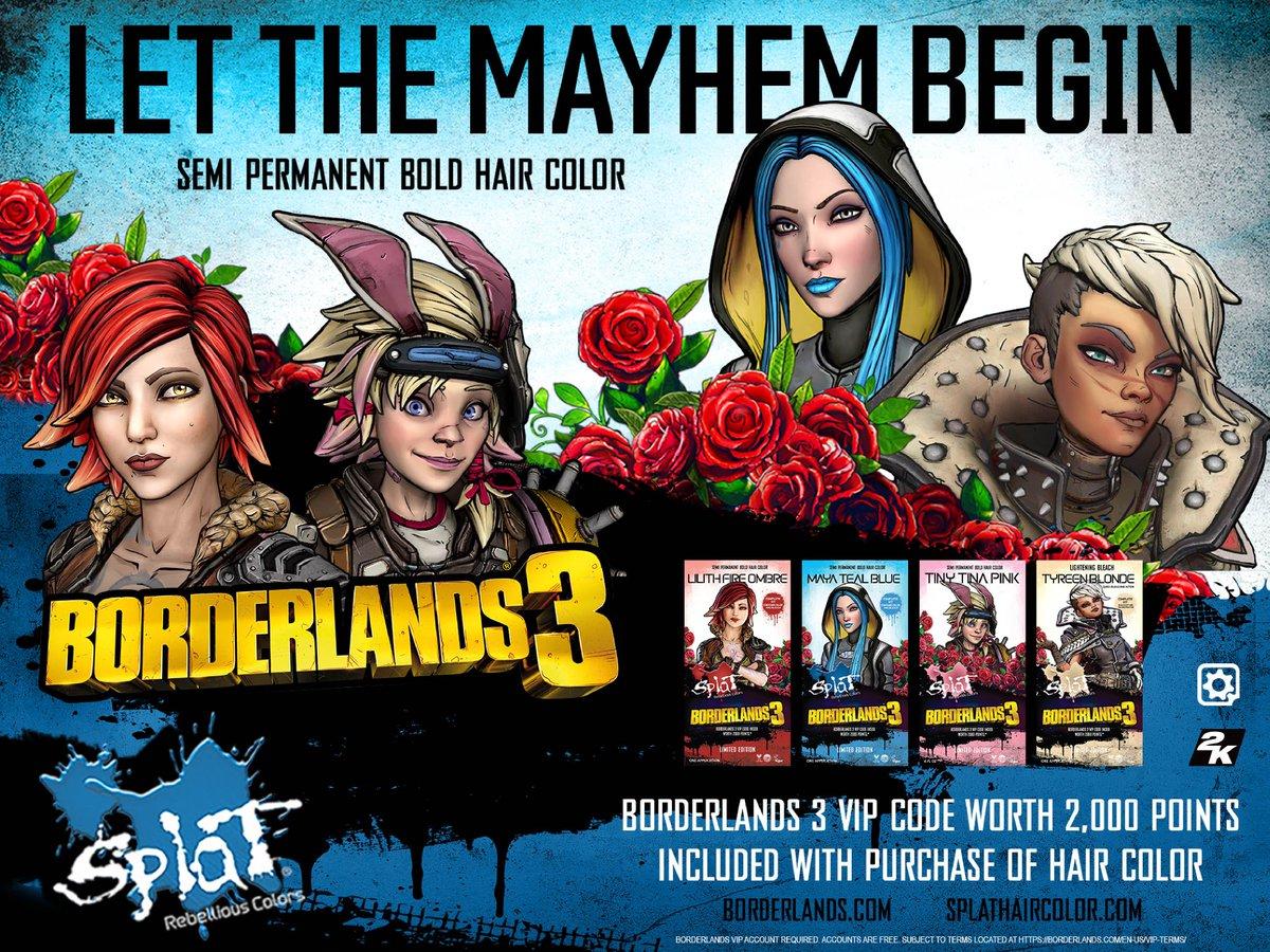 Borderlands 3\'s tweet - \
