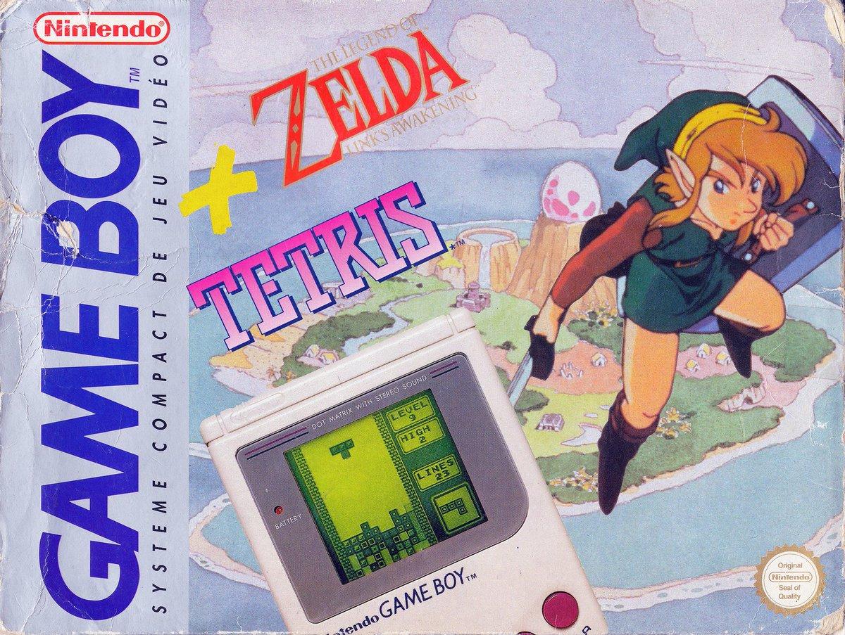 Cool Box Art On Twitter Game Boy The Legend Of Zelda