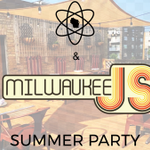 Image for the Tweet beginning: #rooftops, #endofsummerparty, #javascript, #craftbeer #milwaukee,