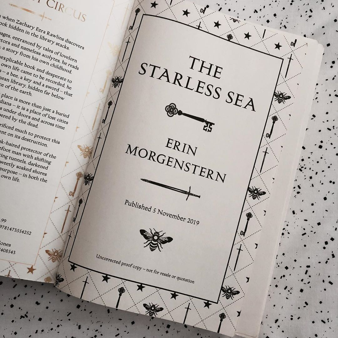 Win a FREE proof copy of the brand new @erinmorgenstern novel The Starless Sea , coming from @HarvillSecker UK in November! From the author of the global bestseller The Night Circus, Its a gem.. - just follow and retweet for a chance to win!