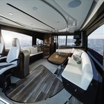 Image for the Tweet beginning: The Lexus LY650 yacht made