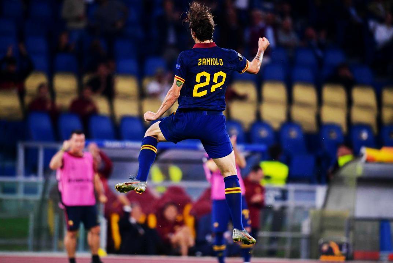 El debut de Zaniolo en la UEFA Europa League (vs İstanbul Başakşehir): 1 gol, 2 asistencias, 3 ocasiones generadas, 93% efectividad en sus entregas, ganó 12 de 19 duelos individuales y recibió 2 faltas. El MVP en la goleada de AS Roma. CUÁNTO FÚTBOL.