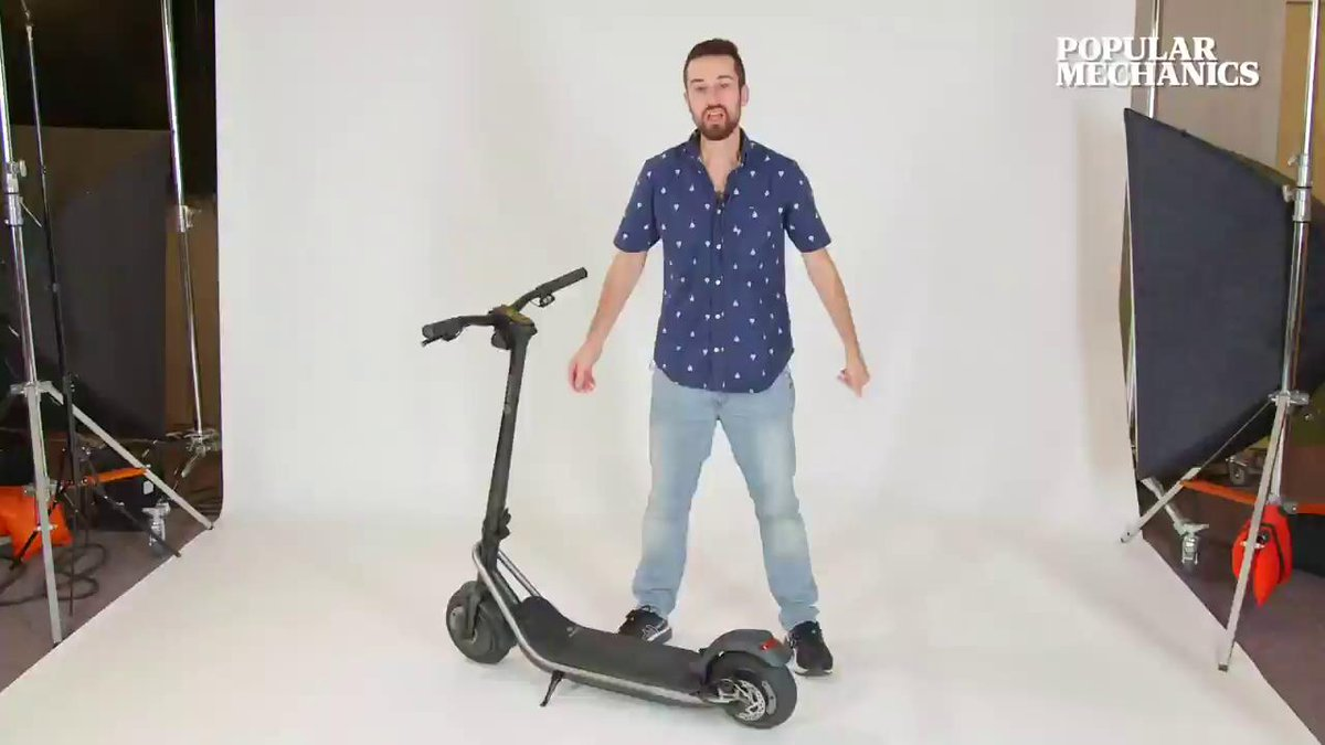 Image for the Tweet beginning: The Boosted Rev Scooter is