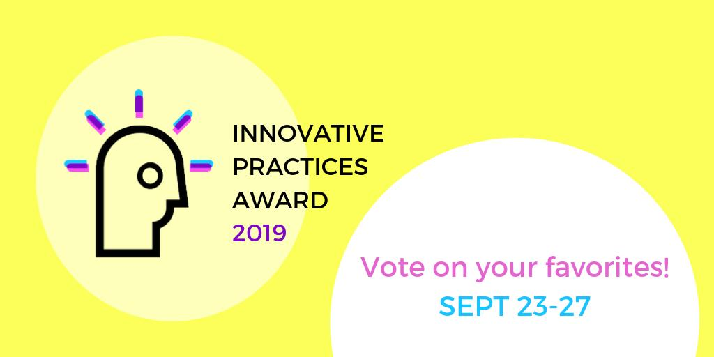 What an honor to be a finalists for the COA Innovative Practices Award! Vote for our Hispanic Centers for Financial Excellence beginning Monday 9/23!