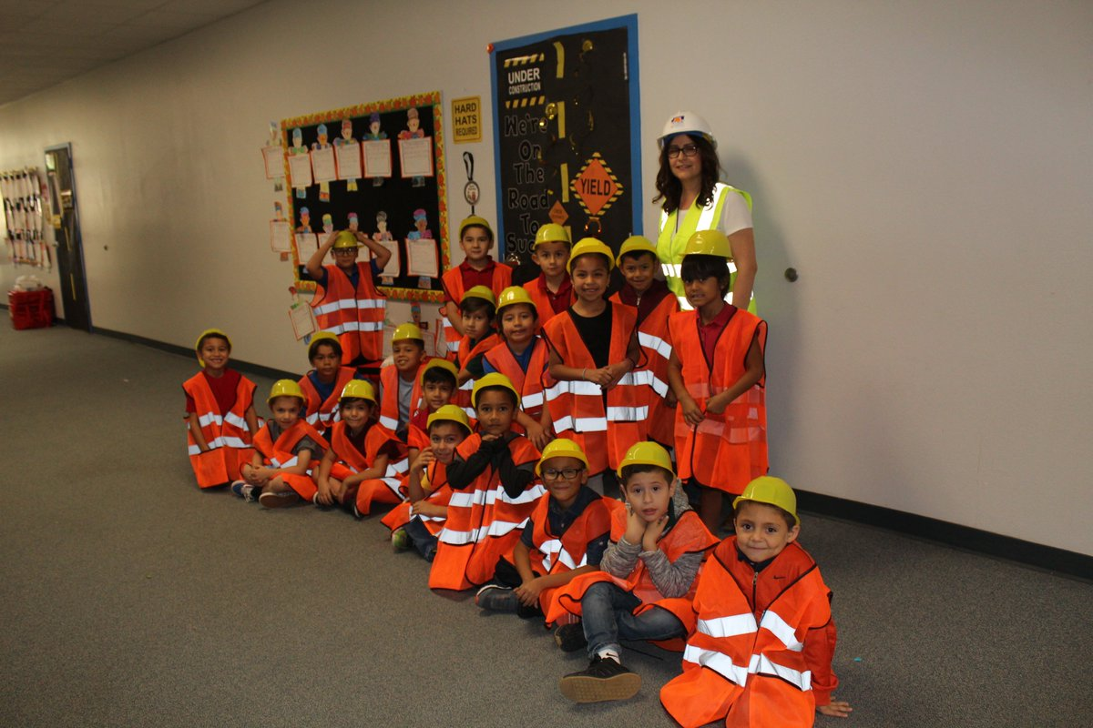 "First Grade completed their unit on The Most Magnificent Thing.  Today they started Tools.  What a ""fun""tastic way to learn.  Lots of construction going on in First Grade.  Caution, Kids At Work!  #RockYourSchool #GetYourTeachOn #ReaganPatriots #WeAreCrane #OpenUpResources<br>http://pic.twitter.com/11zdtD1Udd"