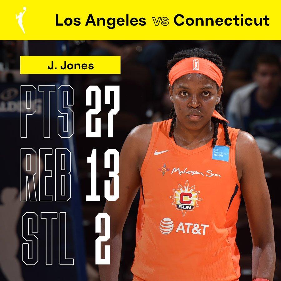 JJ wasn't messing around tonight! 😤#WNBAPlayoffs