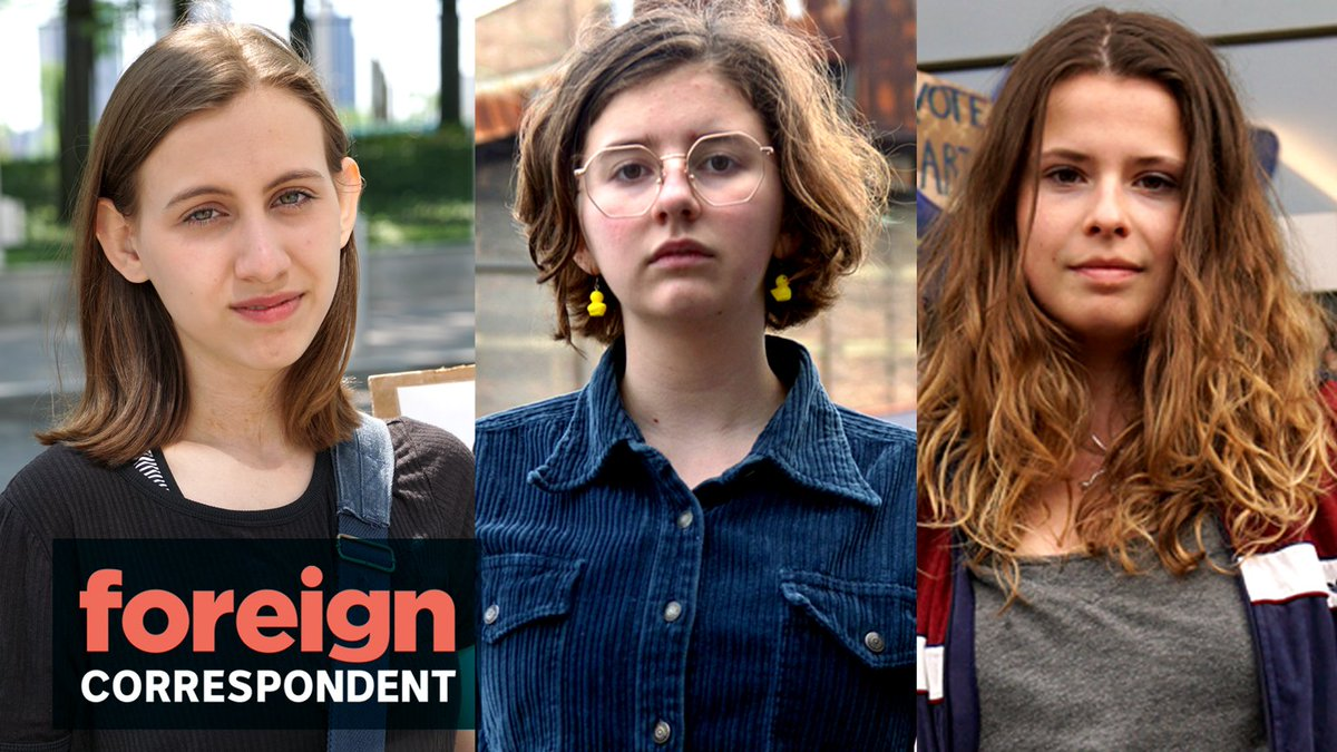 #ForeignCorrespondent follows three young women on three continents whove become key figures in launching a global climate activist movement - while juggling school and schedules. Watch Climate Kids, coming up on October 1st on @ABCTV. #climatestrike