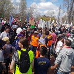 Image for the Tweet beginning: Climate strike Canberra